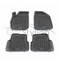 Pasvorm Rubber automatten voor Chevrolet Aveo 2011-heden