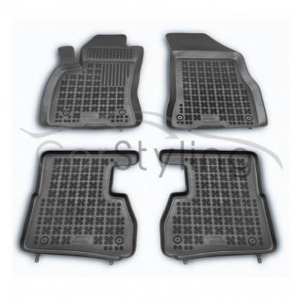 Pasvorm Rubber automatten voor Fiat Doblo 5/7-zits 4-delig 2010-heden