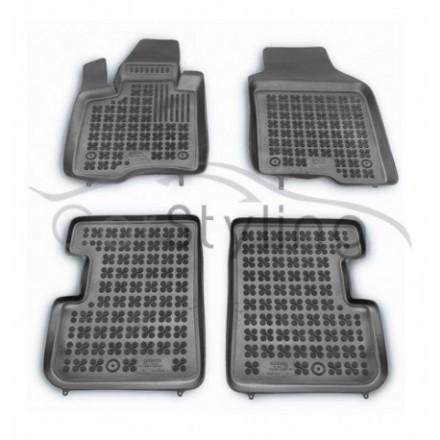 Pasvorm Rubber automatten voor Fiat Panda 2012-heden