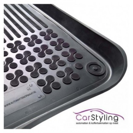 Pasvorm Rubber automatten voor Mercedes Citan voorset 2012-heden