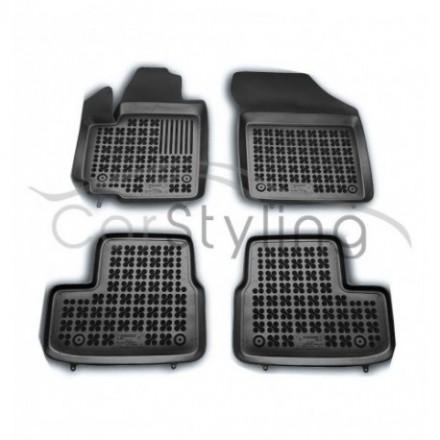 Pasvorm Rubber automatten voor Opel Agila B 2008-2014