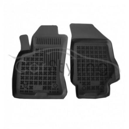 Pasvorm Rubber automatten voor Opel Combo C Bestelauto 2-delig 2011-heden