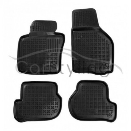 Pasvorm Rubber automatten voor Seat Leon 2005-2013
