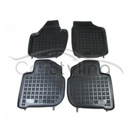 Pasvorm Rubber automatten voor Seat Toledo 2013-heden
