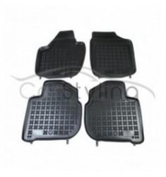 Pasvorm Rubber automatten voor Skoda Rapid 2012-heden