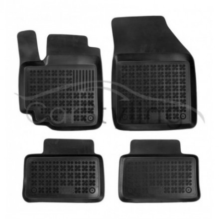 Pasvorm Rubber automatten voor Suzuki Alto 5-deurs Hatchback 2008-heden