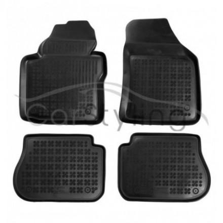 Pasvorm Rubber automatten voor Volkswagen Caddy Life Maxi 5/7-zits 2008-heden