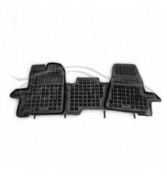 Pasvorm Rubber automatten voor Ford Transit Custom 1-delig 3 zitplaatsen 2013-heden