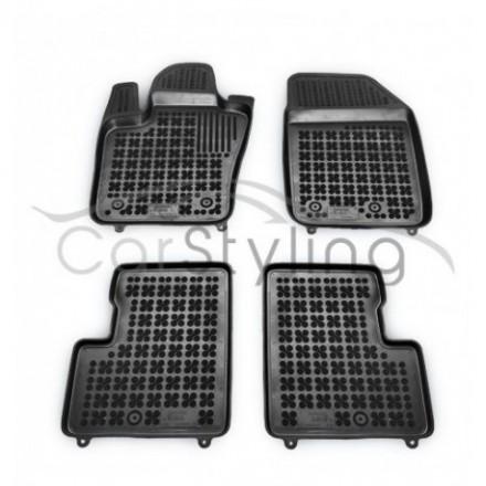 Pasvorm Rubber automatten voor Fiat 500X 2014-heden