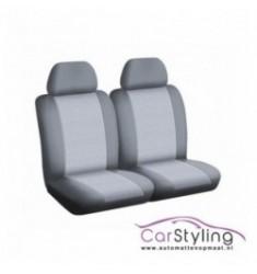 Pasvorm stoelhoes voor de Renault Kangoo II 2 stoelen + armsteun 01/2008-heden