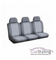 Pasvorm stoelhoes voor de Renault Master 3 stoelen 01/2011-heden