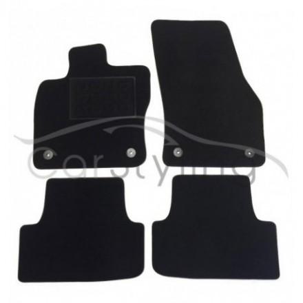 Luxe Velours pasvorm automatten Seat Ateca 2016-heden