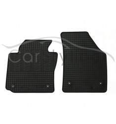 Pasvorm All Weather Rubber automatten voor de Volkswagen Caddy 2P (voorset) 2005-heden