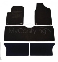 Luxe Velours pasvorm automatten Seat Alhambra 7-pers 1995-2010