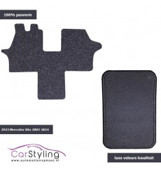 Luxe Velours Campermat Mercedes Vito 638 1996-2003
