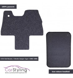 Luxe Velours Campermat Citroën Jumper Type 3 2002-2006