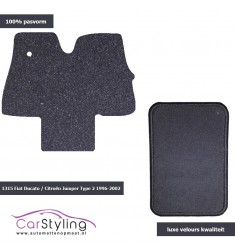 Luxe Velours Campermat Citroën Jumper Type 2 1996-2002