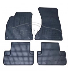Pasvorm All Weather Rubber automatten voor de Audi A4 (B8) 2008-heden