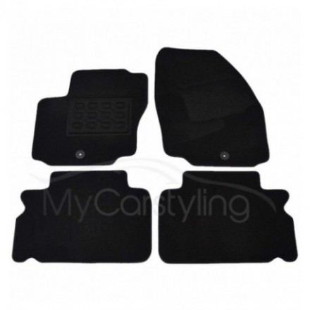 Luxe Velours pasvorm automatten Ford S-Max 5-zits 2006-2010