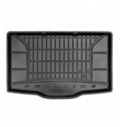 Multifunctionele Rubber kofferbakmat Fiat 500L lage vloer vanaf 2012