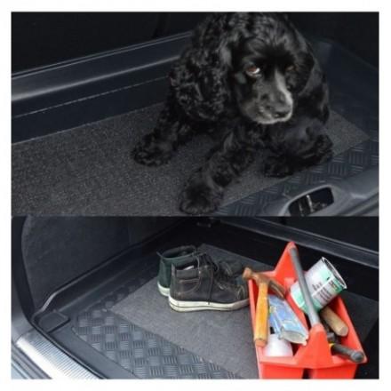 Pasvorm kofferbakmat kunststof Kia Ceed Hatchback 2012-lage vloer