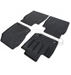 Pasvorm All Weather Rubber automatten voor de Honda Civic Hatchback/Station 2012-heden