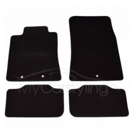 Luxe Velours pasvorm automatten Hyundai Genesis 2011-heden