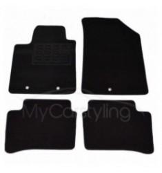 Luxe Velours pasvorm automatten Hyundai i10 08/2013-2020