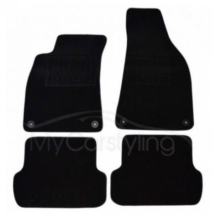 Luxe Velours pasvorm automatten Seat Exeo 2009-heden