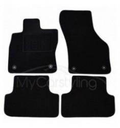 Luxe Velours pasvorm automatten Seat Leon 11/2013-heden