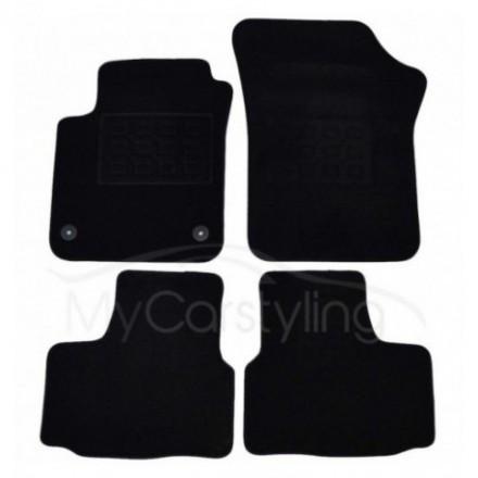 Luxe Velours pasvorm automatten Seat Mii 01/2012-