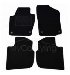 Luxe Velours pasvorm automatten Seat Toledo 12/2012-heden