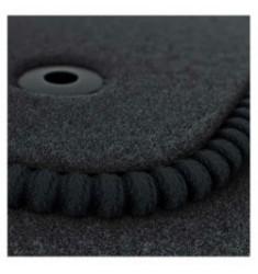 Luxe Velours pasvorm automatten Fiat Panda orginele bevestiging 2012-heden