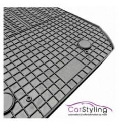 Pasvorm All Weather Rubber automatten voor de BMW 1-serie E88 Cabrio 2008-2014 met bevestigingssysteem
